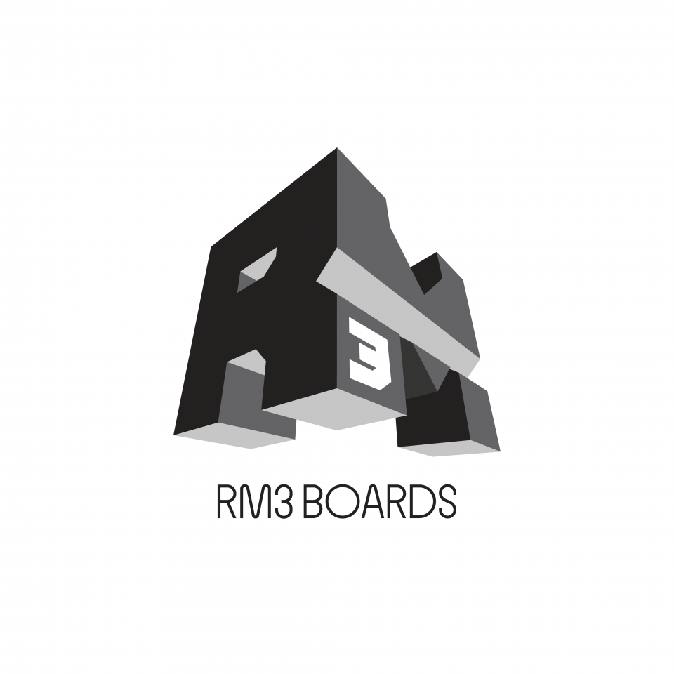 RM3 Boards logo