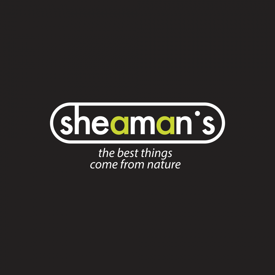 Sheaman's logo, dark